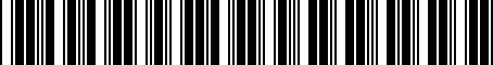 Barcode for 92172AG040