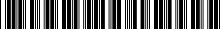 Barcode for H701SFJ020